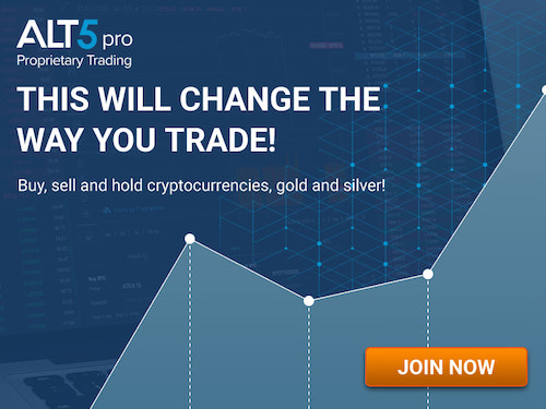 Alt5Pro - Buy, sell, and hold, Cryptocurrencies, Gold, Silver