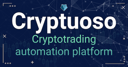 If you've always wanted to try trading robots to MAKE PASSIVE INCOME FOR FREE - now's the time to start automated crypto trading with Cryptuoso.