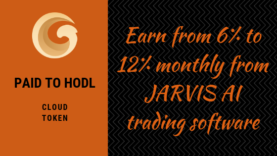 Jarvis AI. Get paid to HODL